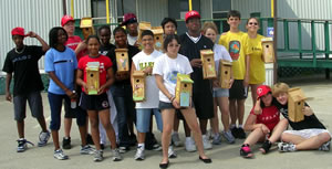 Projects waste management for Harris ymca summer camp